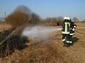Brand einer Hecke/Ackerfläche 1