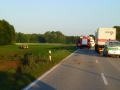 Schwerer Verkehrsunfall mit Überschlag 3