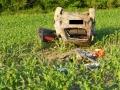 Schwerer Verkehrsunfall mit Überschlag 9