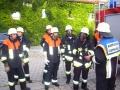 Übung Feuerwehrhaus 1